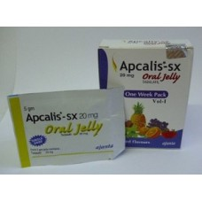 Apcalis SX (Tadalafil) Oral Jelly 7packs x 20 mg