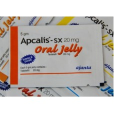 Apcalis SX (Tadalafil) Oral Jelly 20 mg