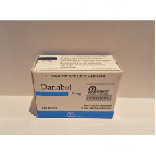 Danabol 100tabs/10mg by Omega Meds