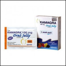 Kamagra Oral Jelly (Sildenafil) 7packs x 100mg
