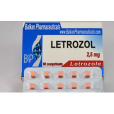 Letrozol 60tabs 2.5mg Balkan Pharmaceuticals