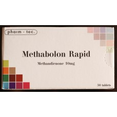 Methabolon Rapid (Dianabol) 50tab/10mg by Pharm-Tec