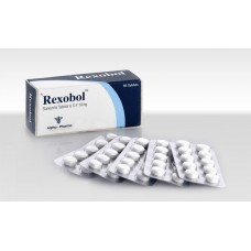Rexobol 50tabs/10mg (Stanozolol) by Alpha Pharma
