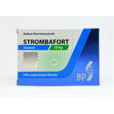 Strombafort (Stanozolol) 100tabs/10mg by Balkan Pharmaceuticals
