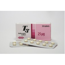T3 Cytomel Uni-Pharma 30tabs/25mcg