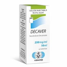 Decaver (Nandrolone Decanoate) 10ml 250mg/ml by Vermodje