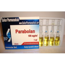 Parabolan (Trenbolone Hexahydrobenzylcarbonate) 10 amps x 1ml/100mg