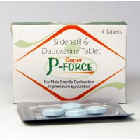 Super P-Force 4tabs x 160mg
